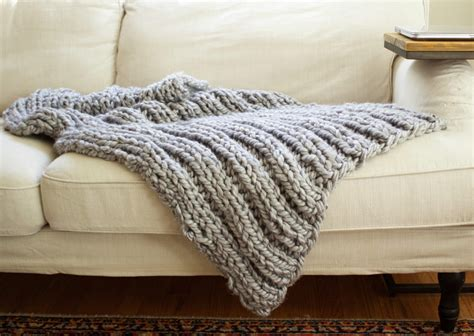 knitting pattern throw chunky chunky rib stitch knit blanket pattern simplymaggie com