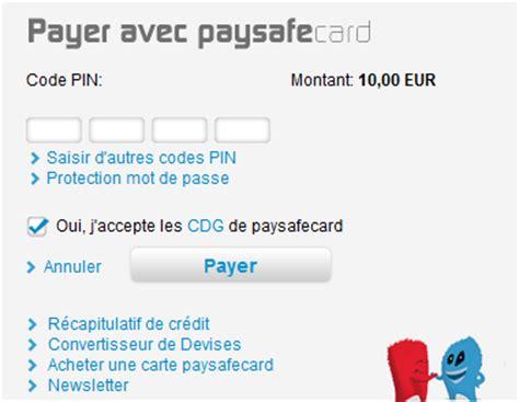 carte paypal bureau de tabac d 233 poser avec paysafecard sur winamax