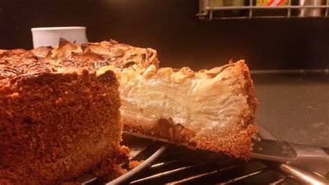 apfel sahne kuchen apfel sahne kuchen mit m 252 rbteig rezept mit bild