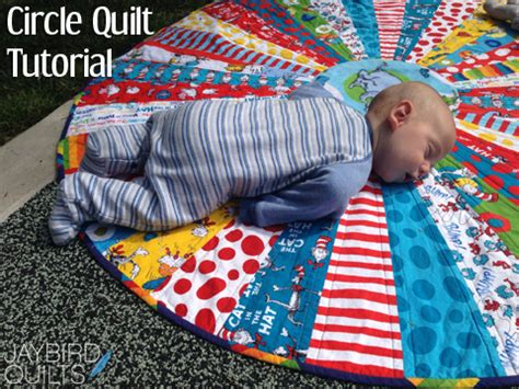 Quilting A Quilt by Circle Quilt Tutorial Jaybird Quilts