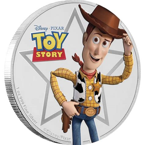 woody pictures disney pixar story woody 1oz silver coin nz mint