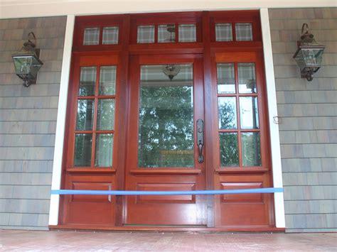 Exterior Door Sidelight Adjust Therma Tru Front Door With Sidelights Door Stair Design