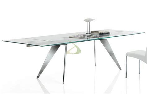 bontempi tavoli prezzi tavolo ramos di bontempi fisso o allungabile in cristallo
