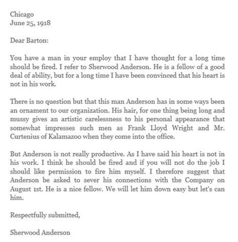 como redactar una carta a un jefe cuando despedirse de una agencia es todo un alarde de