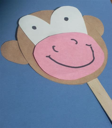 monkey craft for preschool monkey craft