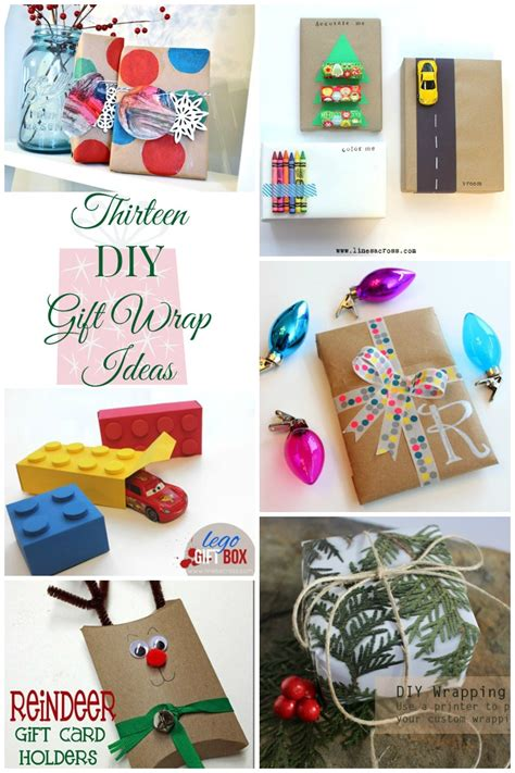 gift diy projects 13 creative gift wrapping ideas just us four