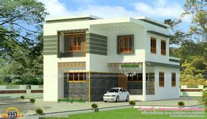 small house design 2000 square 4 bhk modern flat roof home in 2160 sq ft kerala home