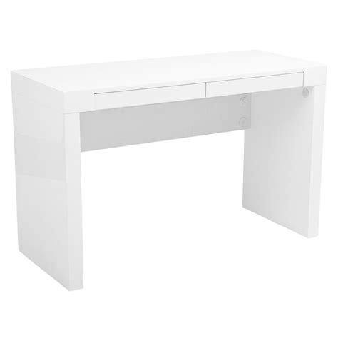 contemporary white desks modern desks downey desk eurway modern furniture