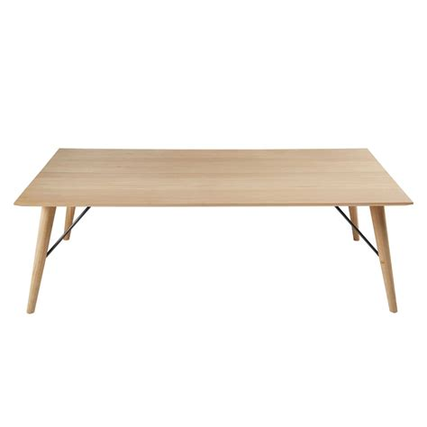 Table Basse En Chene Massif by Table Basse En Ch 234 Ne Massif Fran 231 Ais Keops Maisons Du Monde
