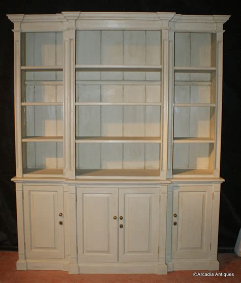 custom built front bookcase antique bookcases
