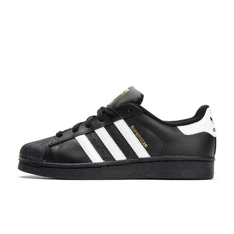 Adidas Originals Black adidas originals superstar foundation black white add1381b