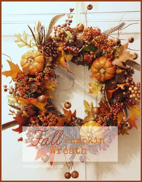 diy fall wreaths four fab fall wreath diy s stonegable