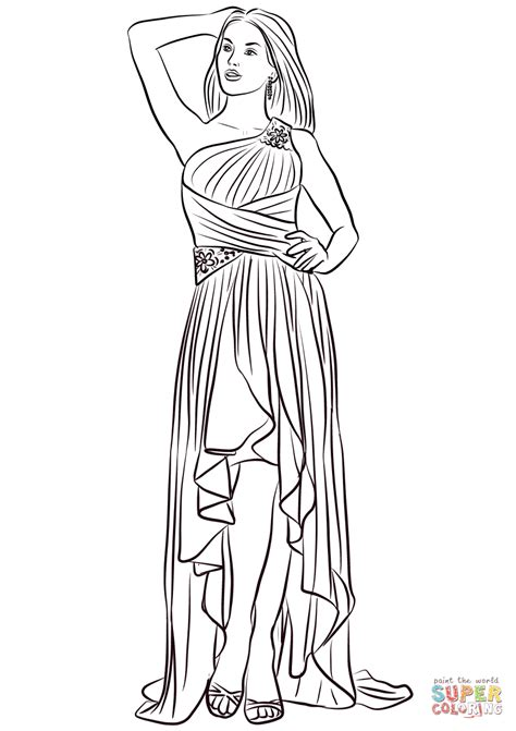 coloring pages of prom dresses coloring pages of dresses coloring pages prom dresses