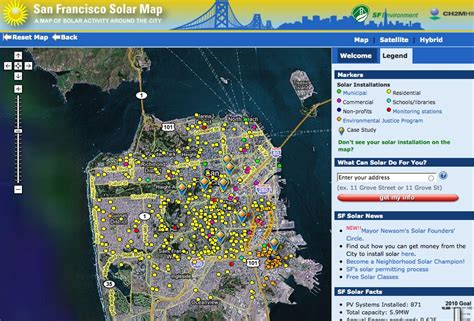 san francisco solar map musings from the coast 187 archive 187 sf solar map