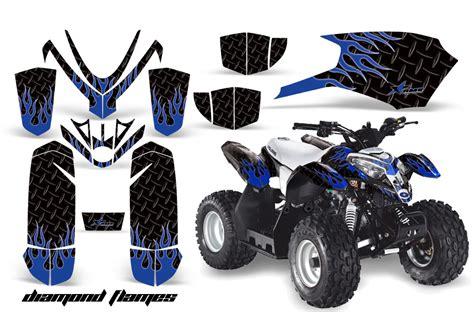 Yamaha Blaster Aufkleber by Atv Graphic Sticker Kit For Polaris Predator 50