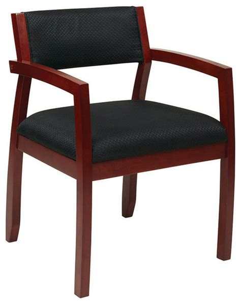 osp furniture napa nap95chy 3 cherry guest chair with