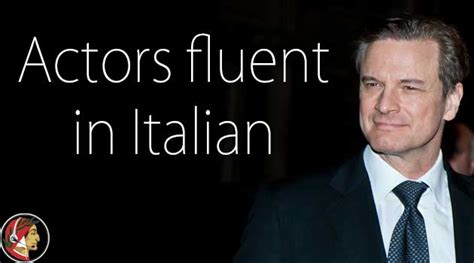american actors that speak other languages hollywood stars who speak awesome italian video dante