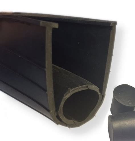 Garage Door Rubber Seal Rubber Garage Door Bottom Seal 100 Roll Garage Door Weather Stripping Garage