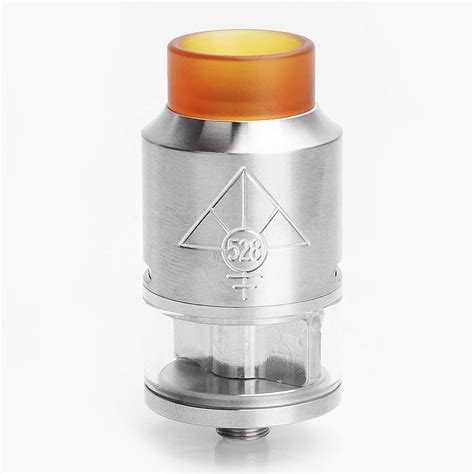 Drip Stainless Steel 250 Ml goon v2 style rdta silver 24mm rebuildable atomizer w pei drip tip
