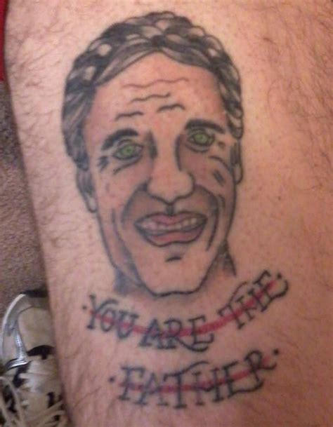 patrick swayze tattoo bad tattoos the funniest bad tattoos seen