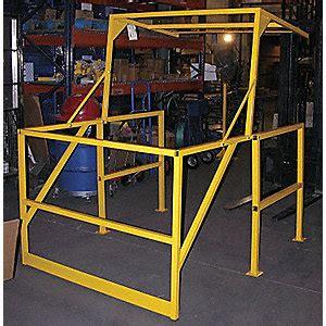 banister safety guard vestil railing safety mezzanine guard rails vesmezz200