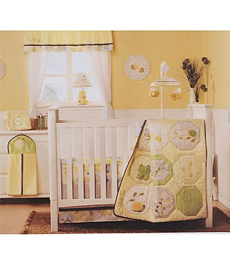 carters bumble collection crib bedding and decor baby
