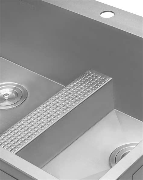 kraus stainless steel sink vs kohler stainless steel sink kraus pax zero radius 31 5 quot x