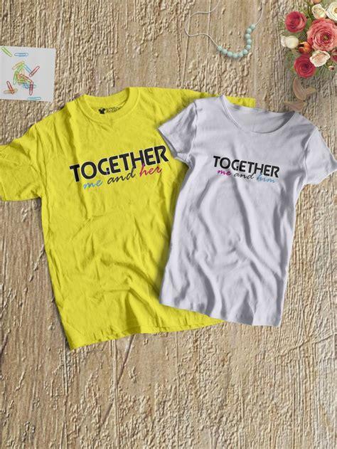p 228 rchen t shirts couple shirts matching couple shirts 71 best couple t shirts for gifting photoshoots and