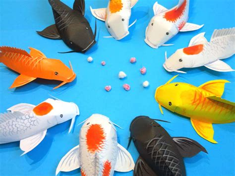 new year koi fish origami fold some into this new year decoration with
