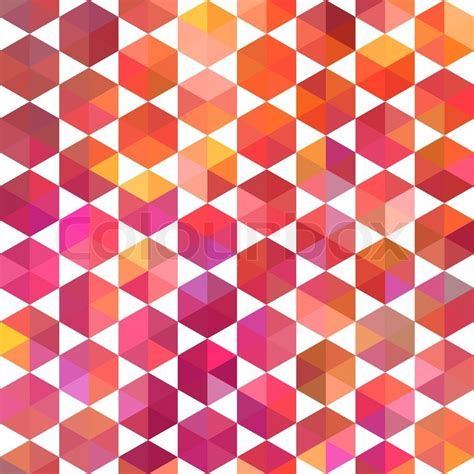pattern background geometric retro pattern of geometric shapes colorful mosaic banner