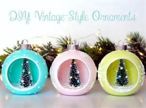 diy vintage style ornaments the scrap shoppe