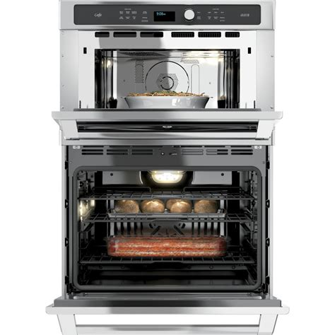 ct9800shss ge cafe series 30 quot combination wall oven