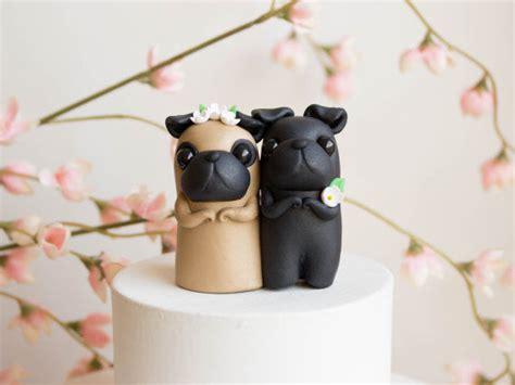 pug wedding pug wedding cakes pug wedding