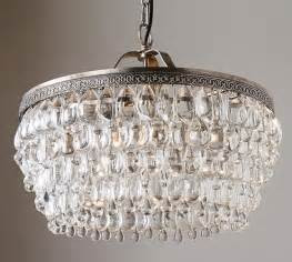 Pottery Barn Chandeliers Clarissa Drop Chandelier Pottery Barn