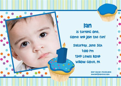 one year birthday card template birthday card invitations birthday invitation cards for