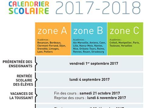 Vacances Scolaires 2018 Grenoble Calendrier Scolaire 2017 2018 Ce Qu Il Faut Savoir En 4
