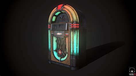 artstation jukebox dirty oldschool vintage aurelie moine