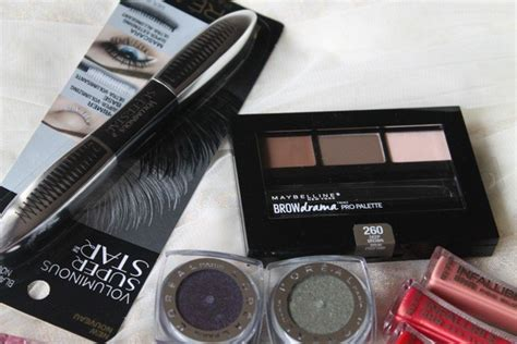Maybelline Eyebrow Kit mini maybelline and l oreal haul