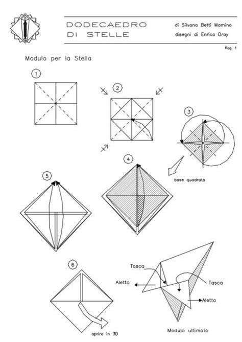 Modular: free diagrams instructing you how to fold unit