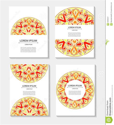 circular business cards templates set templates business cards and invitations with circular