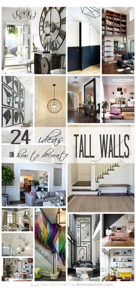 decorating ideas for large wall space best 25 decorating walls ideas on