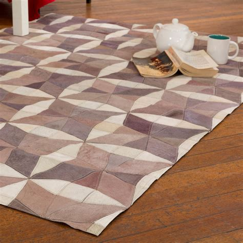 Patchwork Cowhide Leather Rugs - buy patchwork leather cowhide rug harrods 120x180cm