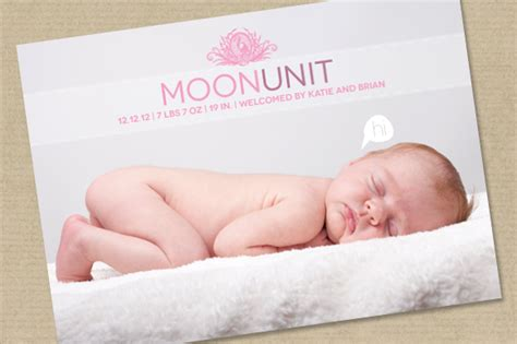 cutest deals for birth announcement template