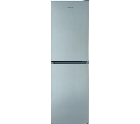 Daewoo Free Fridge Freezer Buy Daewoo Dff470ss 50 50 Fridge Freezer Silver Free