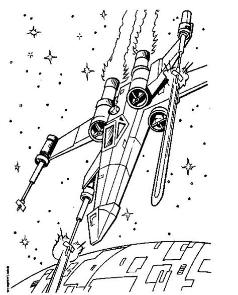star wars coloring pages x wing fighter star wars x wing coloring pages back print x wing