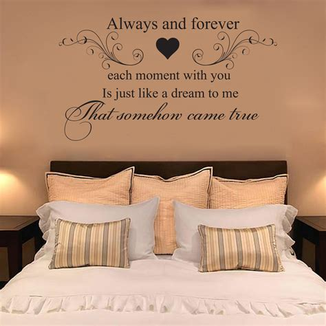wall decal forever and always vinyl decal by villagevinepress heatwave always and forever quote vinyl wall art