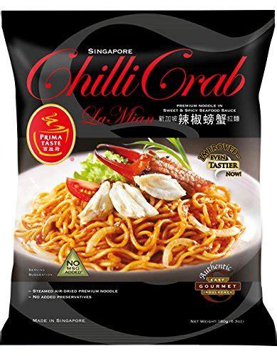 Prima Taste Chili Crab La Mian prima taste laksa la mian 185g pack of 12