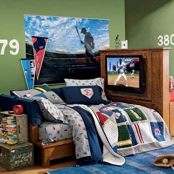 Boys Bedroom Ideas Nfl Bedroom Baseball Bedroom Decor