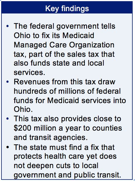 medicaid provider tax fix must not hurt counties transit