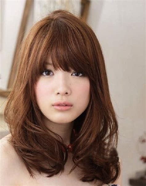 haircut for 8year w bangs best 20 medium asian hairstyles ideas on pinterest